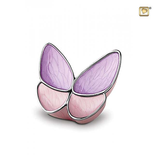 Schmetterlinge mini urne