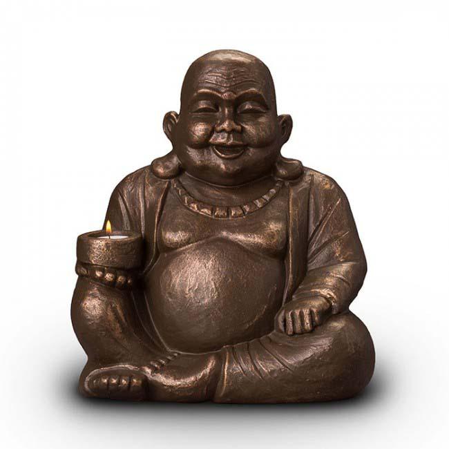 beleuchtete buddha art urne liter ugkb