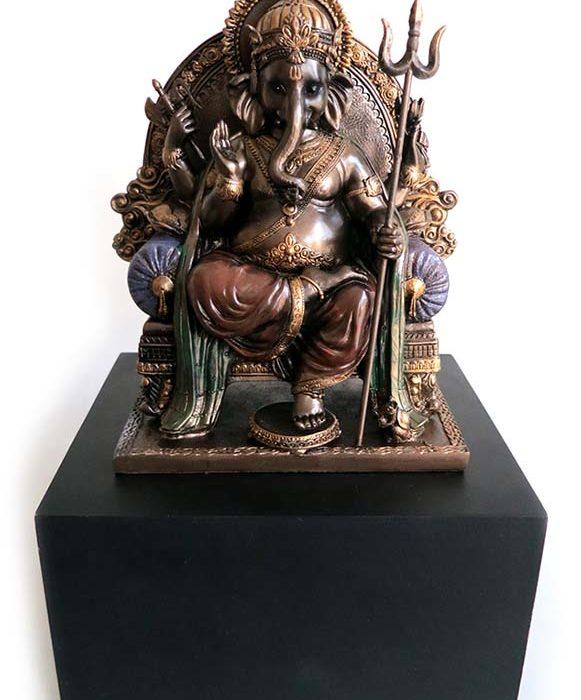 bronze ganesh bild auf asbox