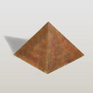 bronze pyramide urne