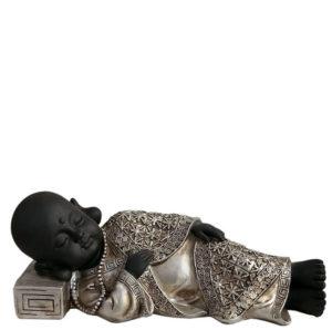 buddha urne friedliches schlafen shaolin monch