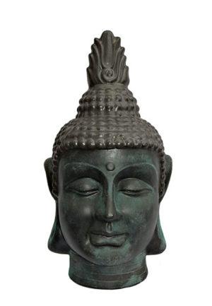 buddha urne kopf
