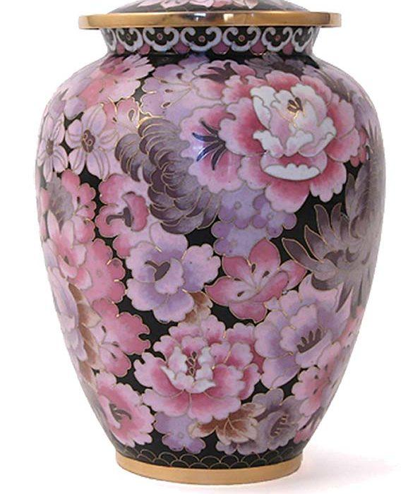 cloisonne urne elite floral blush