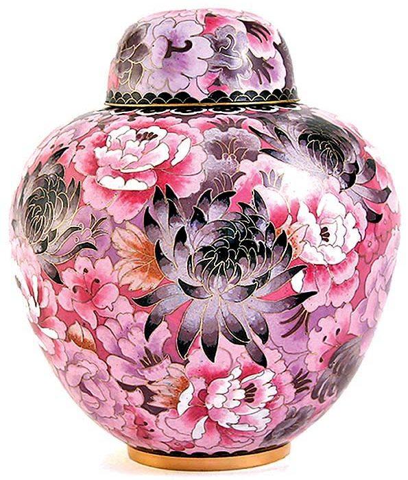 cloisonne urne elite floral blush liter tb cl