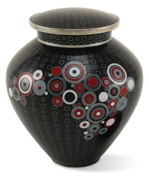 cloisonne urne opulenz onyx
