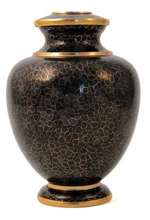 cloisonne urne wesen schiefer