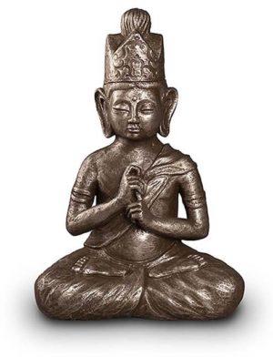 dai nichi buddha art urne silber