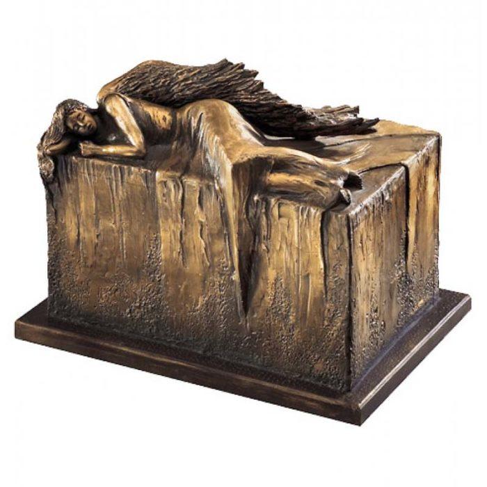 design duo urne ruhender engel liter uub
