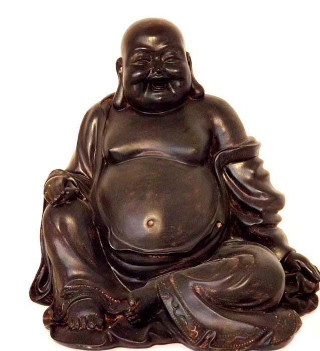 dicker bauch buddha urne