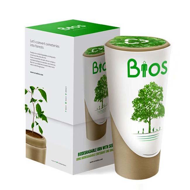 ekologische biobaum urne liter uhy