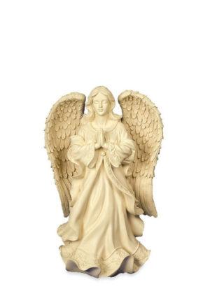 engel mini urne heiter biddende