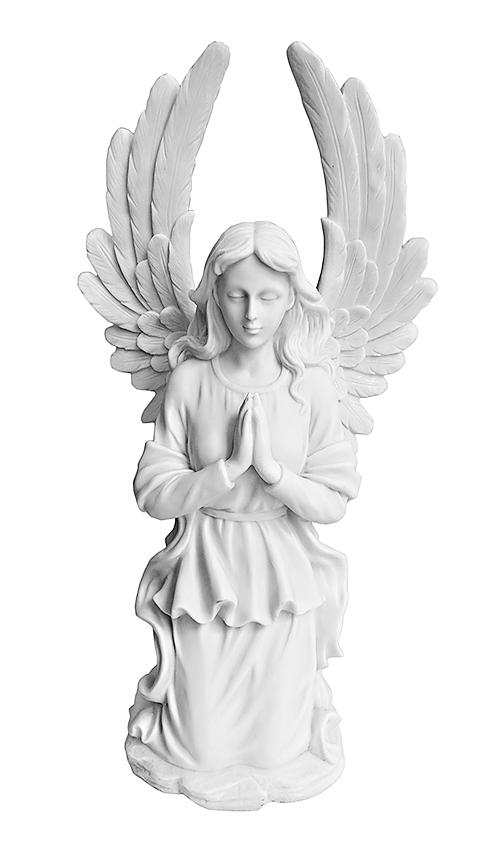 engel urne grosses kniende gebet