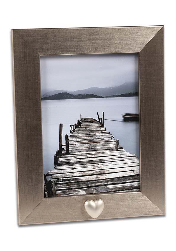 fotorahmen mit edelstahlrohr mini urne