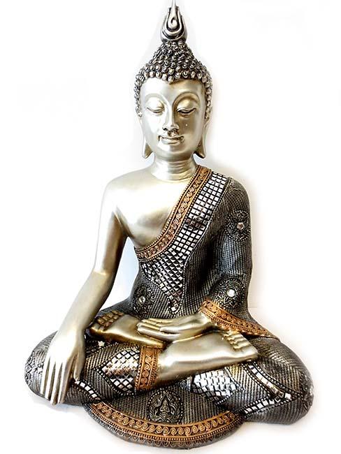 gro e thail ndische meditation buddha urne 2 liter billige urnen deutschland. Black Bedroom Furniture Sets. Home Design Ideas