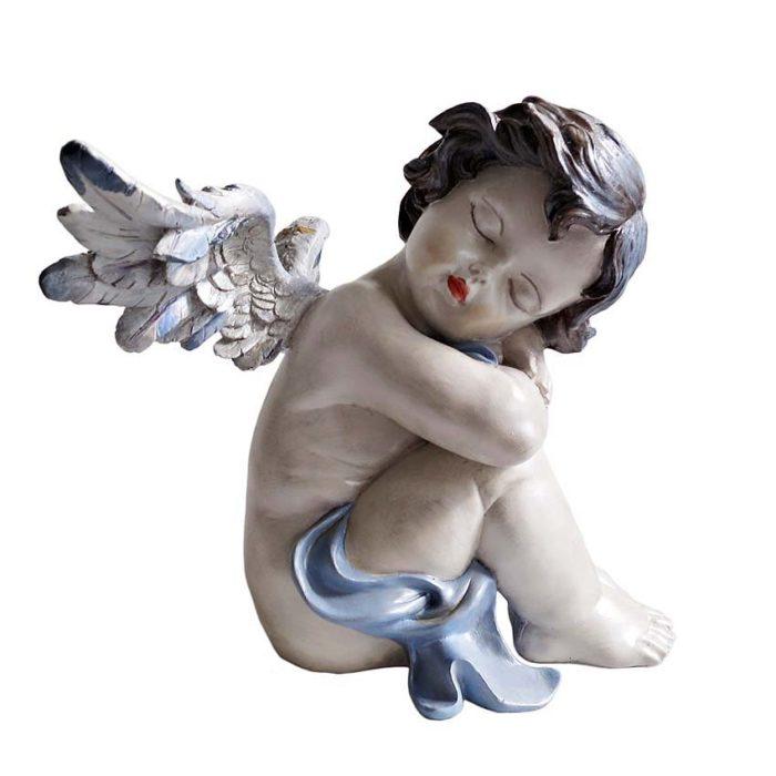 handgemalte engel urne friedliche ruhe links liter mvr eul