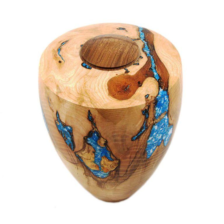 holz urne aus ahorn
