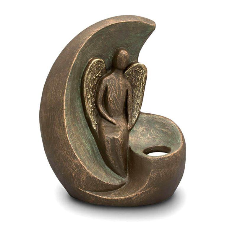keramik art urne angel