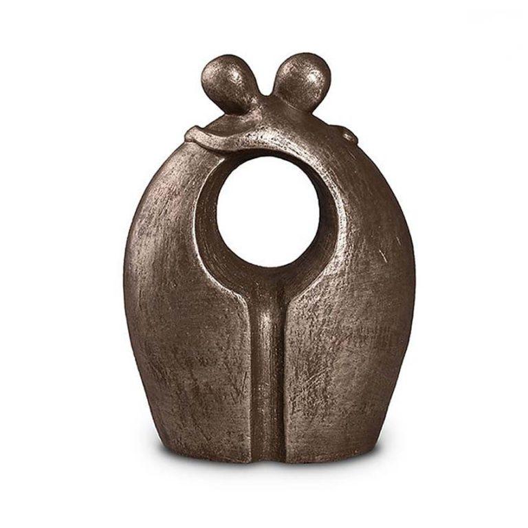 keramik art urne auf wiedersehen silber liter UGKS