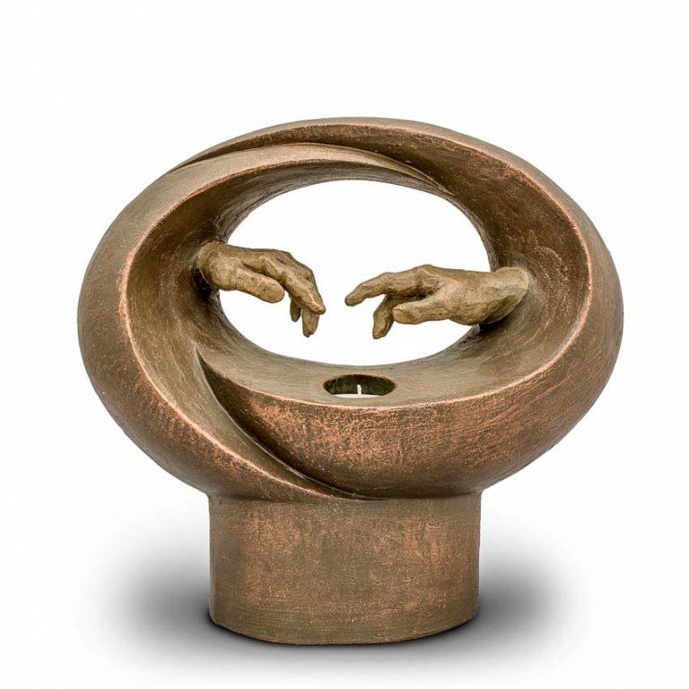 keramik art urne beleuchtet zum leben geweckt liter UGKB