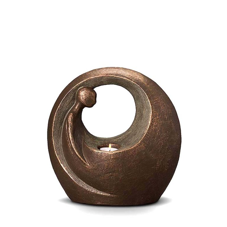 keramik art urne einsam beleuchtet liter UGKT