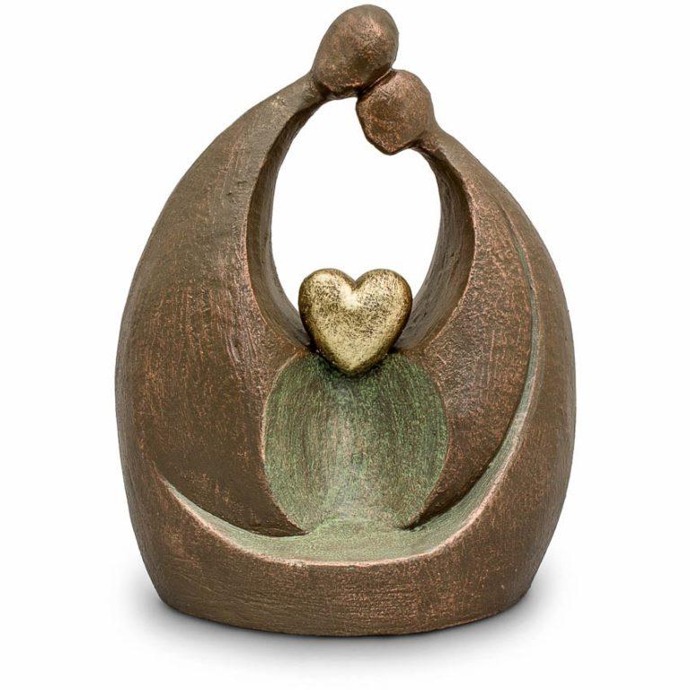 keramik art urne ewige liebe liter UGKA