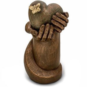 keramik art urne herzschmerz
