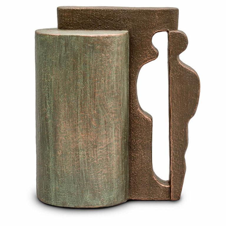 keramische art urne leere