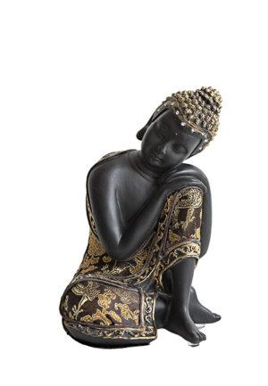 kleine buddha urne schlafender indische buddha