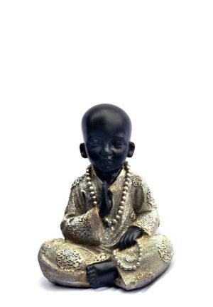 kleine buddha urne segen shaolin monch