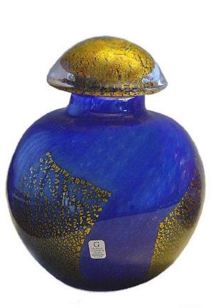 kleine kristallglaser urne