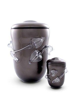 kleine premium bohemian kristallglaser urne