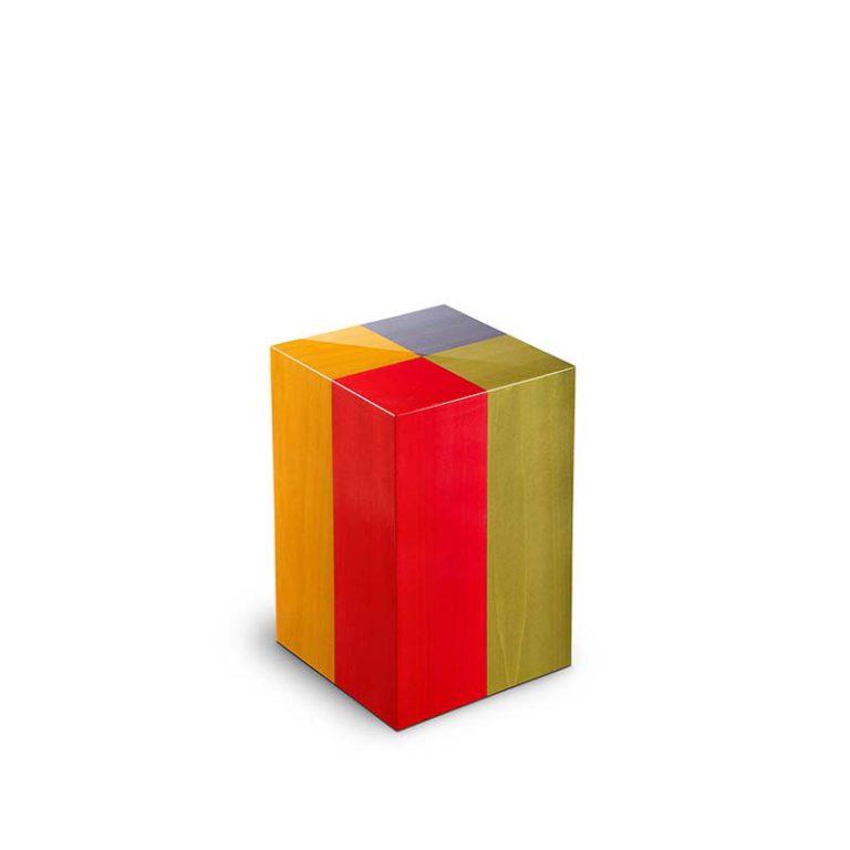 kleine rechteckige urne memoria arlecchino