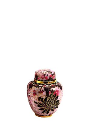 mini urne cloisonne elite floral blush
