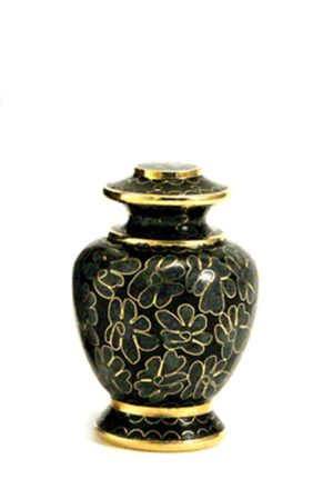 mini urne cloisonne wesen schiefer