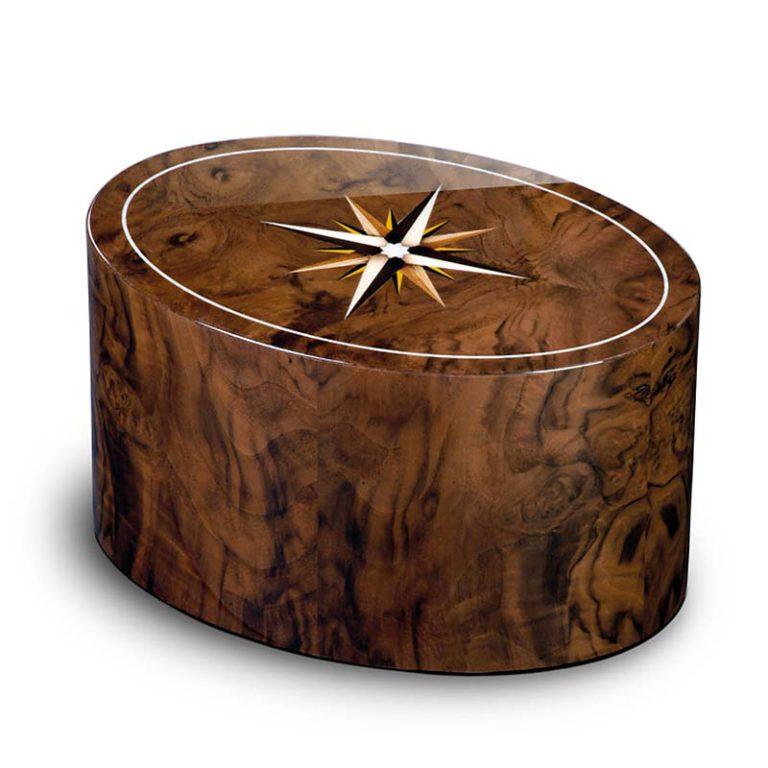 ovale urne roma windrose noce liter urrrvl