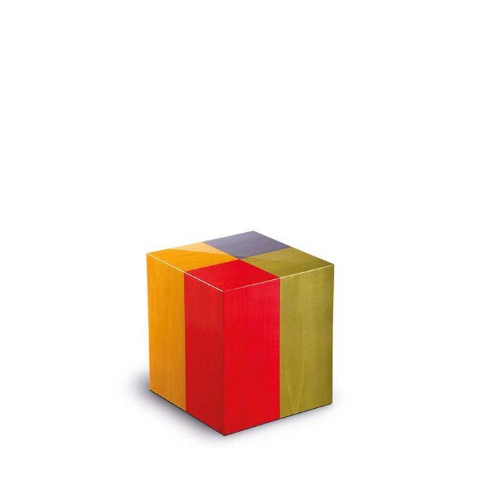 rechteckige mini urne venezia arlecchino