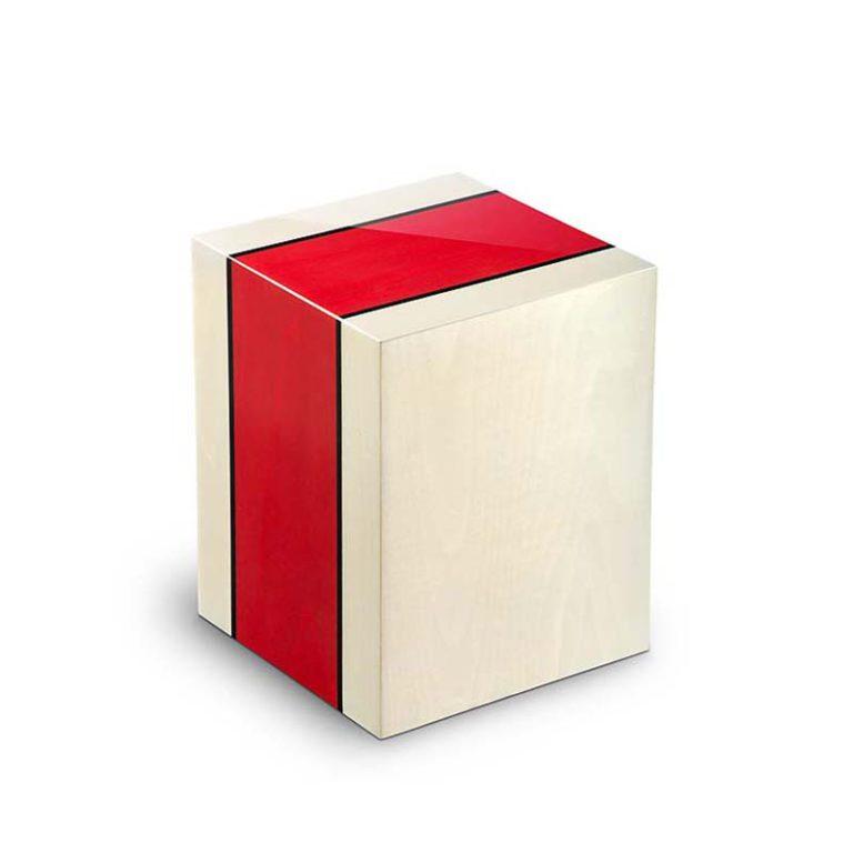 rechteckige urne columbarium venezia rosso liter urcvel