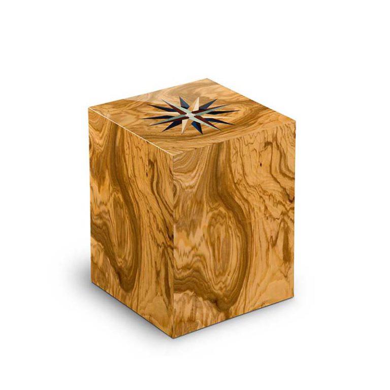 rechteckige urne columbarium windrose olivo liter urcrvl