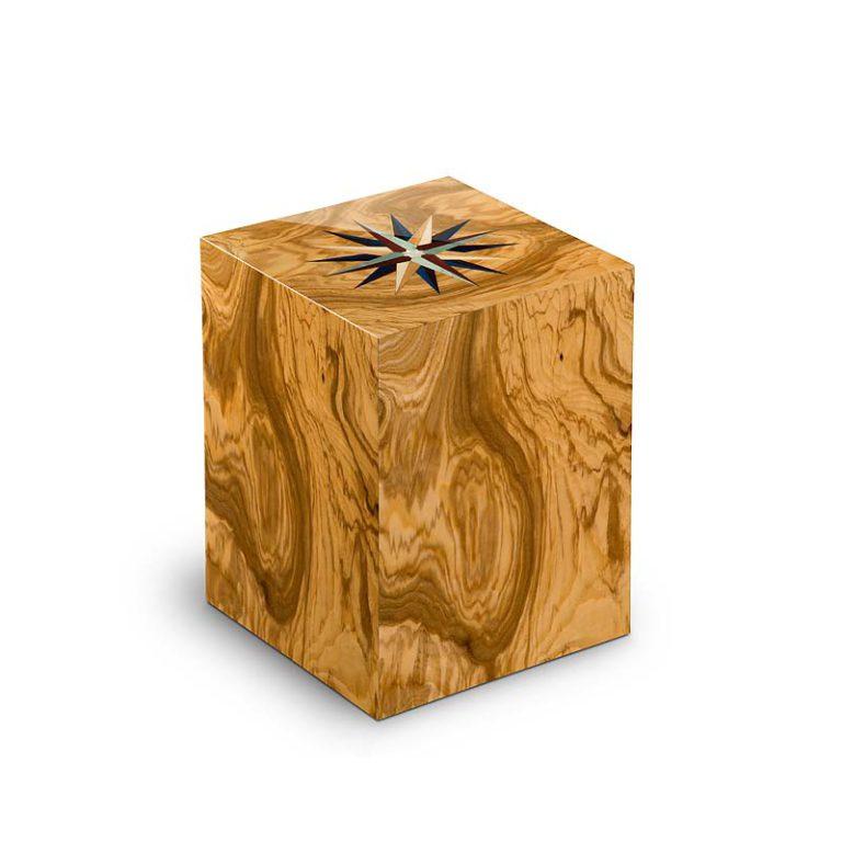 rechteckige urne compagnon windrose olivo