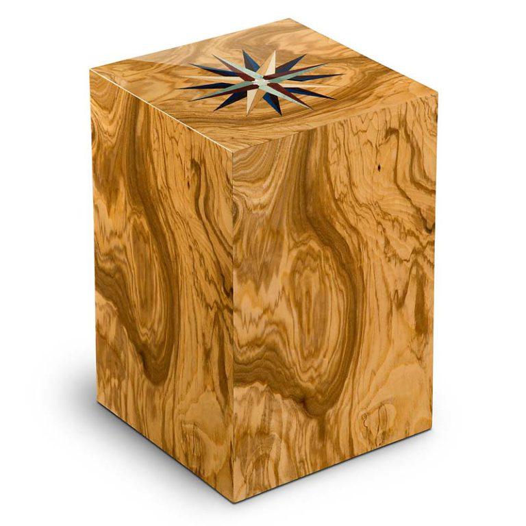 rechteckige urne essential windrose olivo liter urvrvl