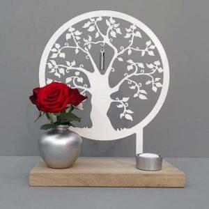 stehender huisaltaar erinnerungsbaum schwarz oder weiss dp mhb