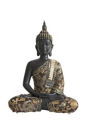 thailandische meditation buddha urne