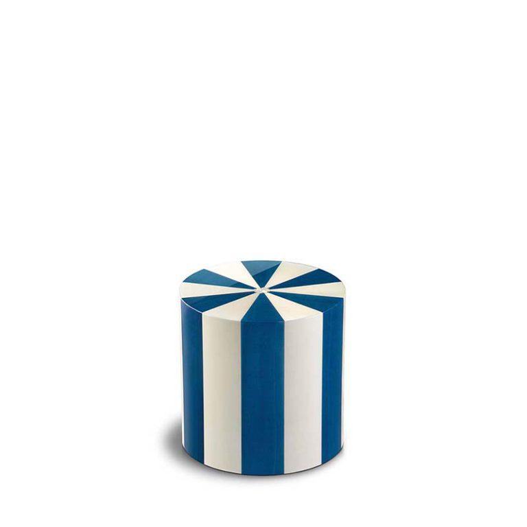 zylinder mini urne pisa blu