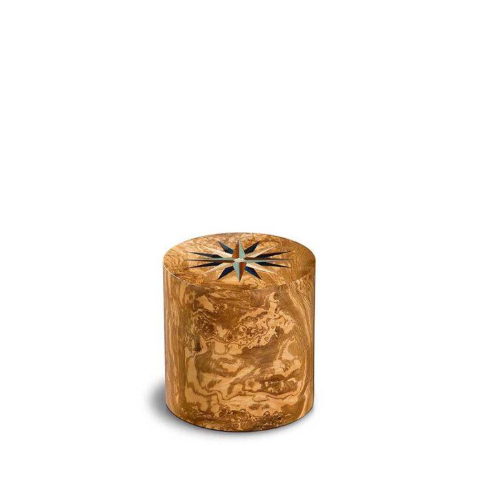 zylinder mini urne pisa windrose olivo
