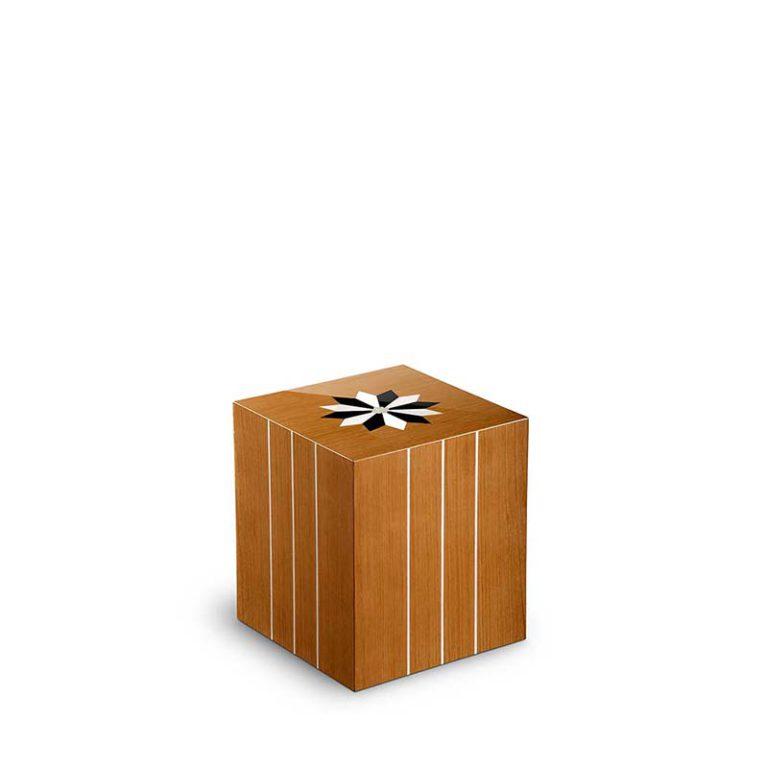 zylinder mini urne pisa windrose teak