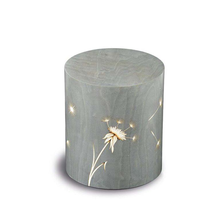 zylinder urne columbarium pisa denti dei leone grigio liter urcopp