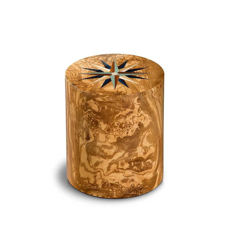 zylinder urne columbarium pisa windrose olivo 5 liter. Black Bedroom Furniture Sets. Home Design Ideas