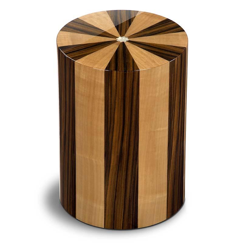 zylinder urne pisa noce palisandro 7 liter billige. Black Bedroom Furniture Sets. Home Design Ideas