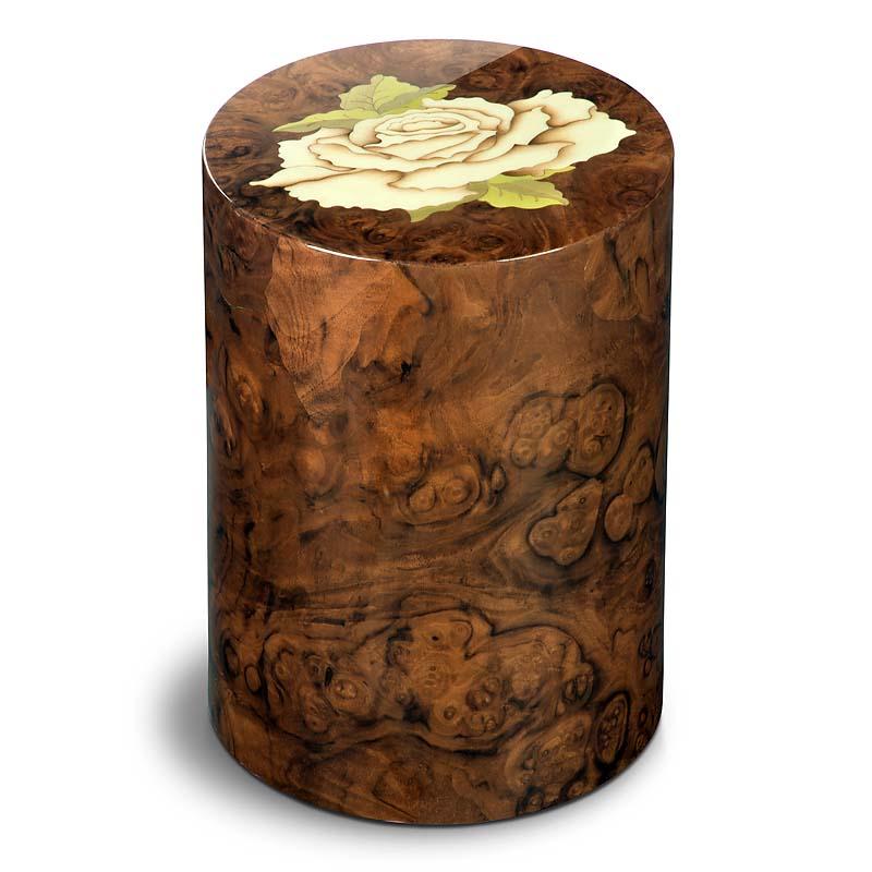 zylinder urne pisa rosa noce 7 liter billige urnen. Black Bedroom Furniture Sets. Home Design Ideas