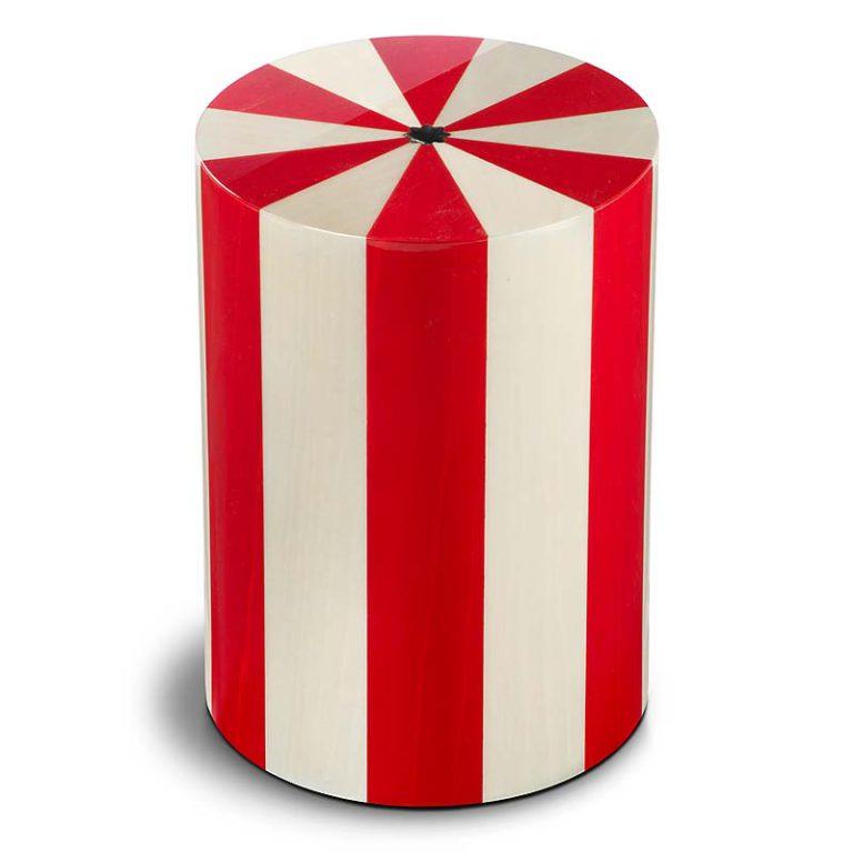 zylinder urne pisa rosso liter urpxxl